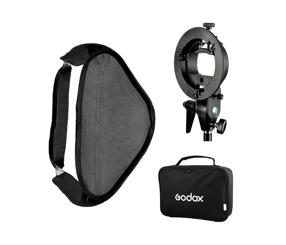 GODOX S-Type Bracket with Softbox 60x60cm