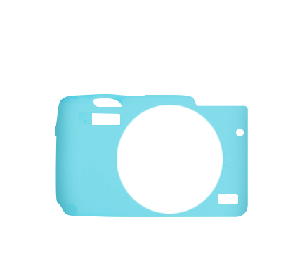 MYER Silicon Case For EOS M10 Blue
