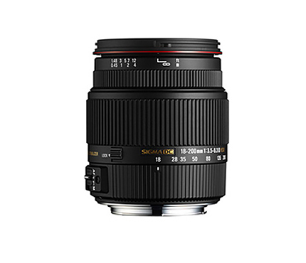 Sigma Lens 18-200mm F3.5-6.3 II DC OS HSM For Nikon