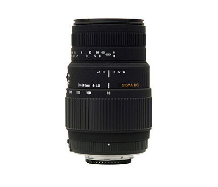 Sigma Lens 70-300mm f4-5.6 DG OS for Canon