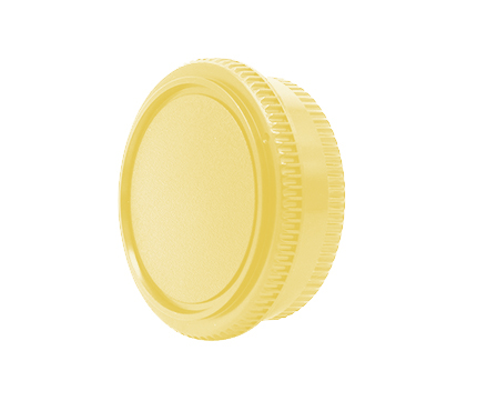 Sky Accesories Body and Cap For Canon Light Yellow
