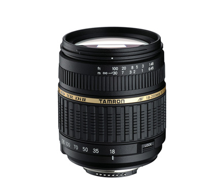 Tamron Lens SP AF 18-200mm f3.5-6.3 XR Di II for Canon