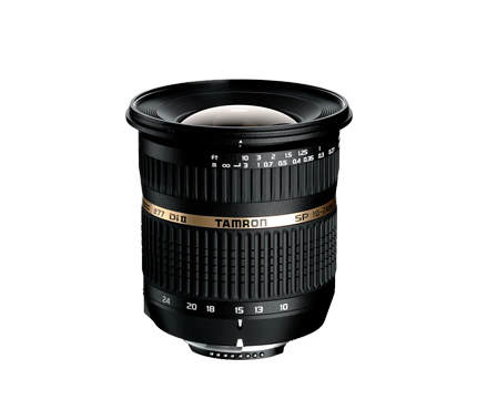 Tamron Lens SP AF10-24mm F/3.5-4.5 Di II For Canon