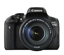 Canon EOS 750D EF-S 18-135mm IS STM Wifi