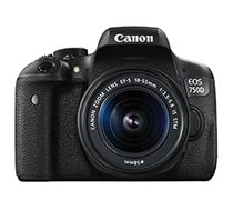 Canon Digital Camera EOS 750D EF-S 18-55 IS STM Wifi