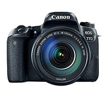 Canon EOS 77D 18-135mm IS Nano USM Wifi