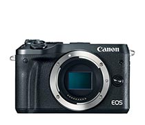 Canon EOS M6 Body Only Black