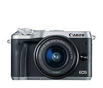 Canon EOS M6 EF-M15-45 IS STM Silver