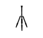 Jusino Tripod X-522S plus B-025 Black