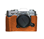 Mada Halfcase X-T20 Brown with Brown Line