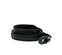 MYER Genuine Leather Neck Strap Less Pressure Black