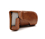 MYER Leather Case for Fuji X-A3 Brown