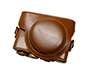 MYER Leather Case for RX100 Brown
