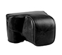 MYER Leather Case for Sony A6000/A6300 Black