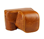 MYER Leather Case for Sony A6000 Brown