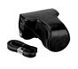 MYER Leather Case for Fuji X-A3 & X-A10 Black