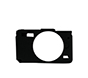 MYER Silicon Case For EOS M10 Black