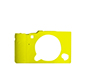 MYER Silicon Case For Fuji XA3 Yellow