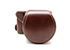 MYER Leather Case for Fuji X-A3 Coffee
