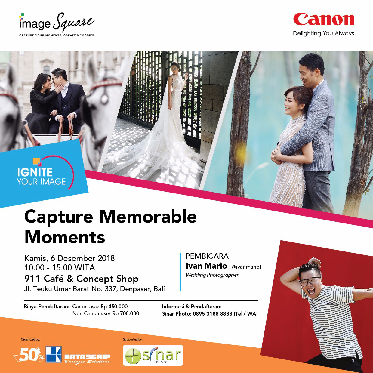 Capture Memorable Moments