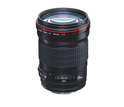 Canon Lens EF 135mm f2L USM Ultrasonic