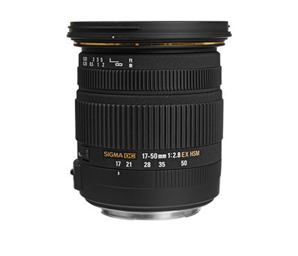 Sigma Lens 17-50mm f2,8 EX DC OS for Canon
