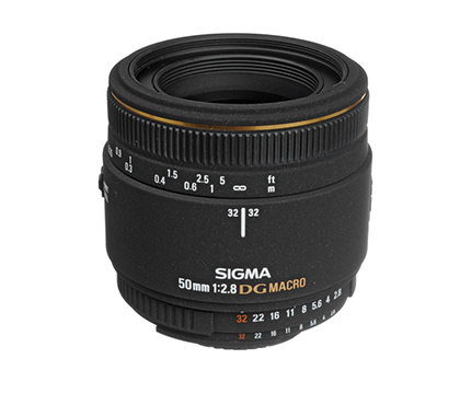 Sigma Lens 50mm F2.8 EX DG Macro For Nikon