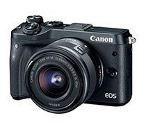 Canon EOS M6 EF-M15-45mm IS STM Black