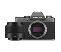 Fujifilm X-T200 Kit XC 35mm f2 R Dark Silver