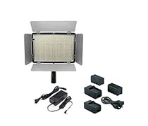 X-Pro LED Video Light KM-600 Free 2 unit NP-F750/F770,Charge